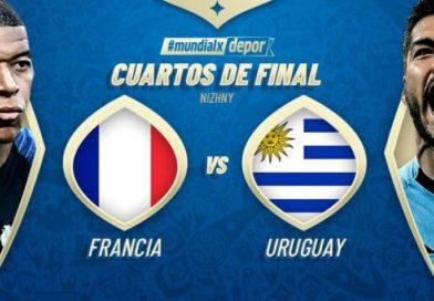 Uruguay Eliminado,Francia a Semifinal