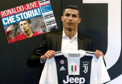 Cristiano Ronaldo el posible fichaje para el fútbol italiano.